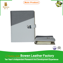 China alibaba supplies personal customized inner paper leather planner binder & binder planner & 6 ring planner binder