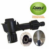 Eco-friendly Black Hose End Sprayer for Fertilizer and Pesticide or Multi Purpose Use - Fits onto most Soft Drinks Bottle