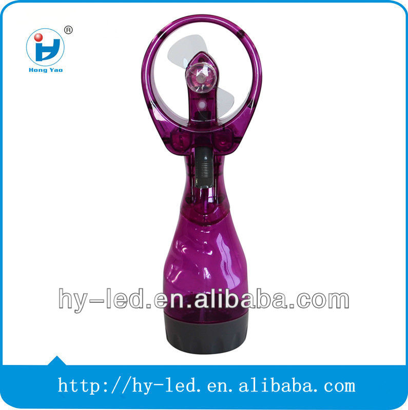 Best seller mini outdoor plastic water mist spray fan