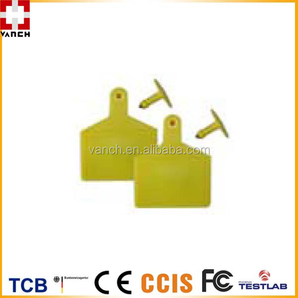 EPC Class 1 GEN2 UHF RFID TAG for pig/cattle/sheep record tracking