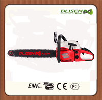 Garden tools petrol chain saw wood cutting chain saw,gasoline cordless chainsaw