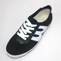 hot sale lace up canvas multi-functional mens shoes