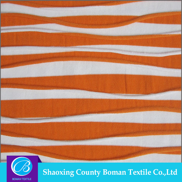 China supplier Top-end Custom Knitted knit fabric for garmen