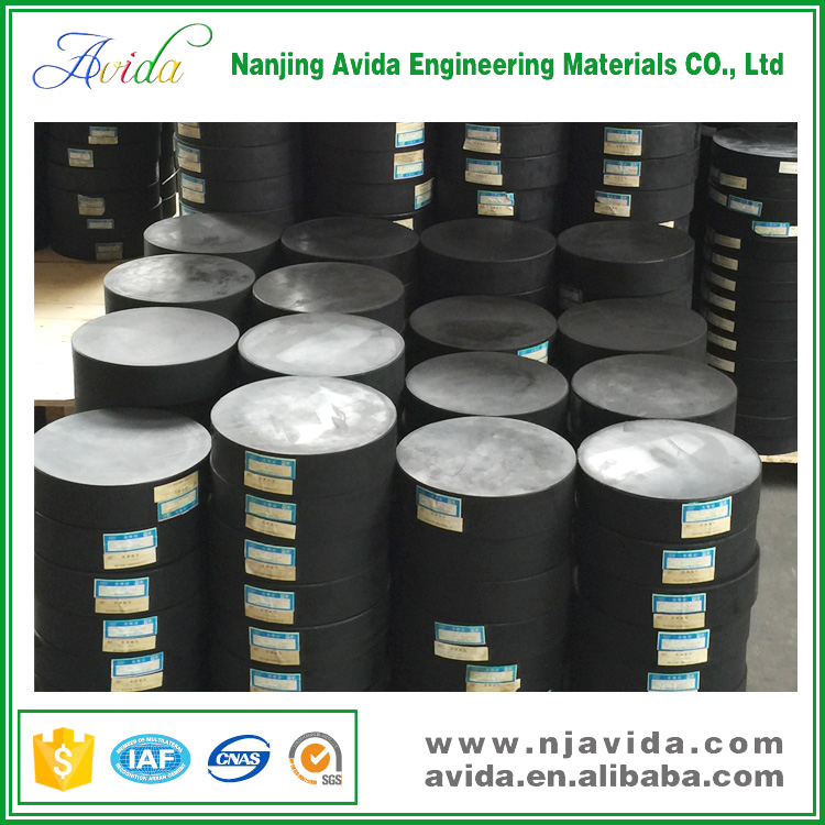 Rounded Vulcanized Neoprene Types of Bridge Bearings for Iran