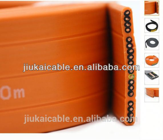 ENDO high quality retractable used elevator cable reel