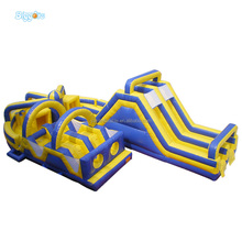 Inflatable Obstacle Course Races Challenge Kids Obstacle Course Equipment