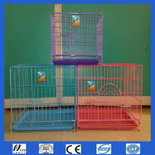 Welded Wire Dog Cage Foldable Metal Dog Cage