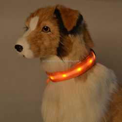 glow safety product light up dog collars for small dogs