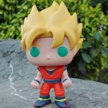 Mini Qute Funko Pop 5 Styles Anime Dragon Ball Perfect Cell Goku Super Hero Action Figures Cartoon Models Educational Toy