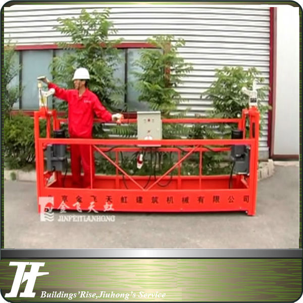 Construction swing stage gondola electrical cradle cleaning machine
