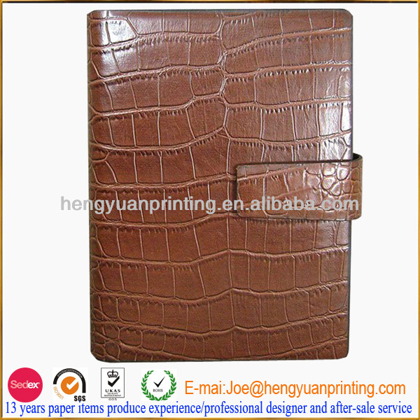 leather cover stationery journal notebook as promosion gift