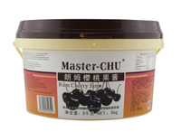 Master-Chu rum cherry jam for bakery filling with HALAL 5kg
