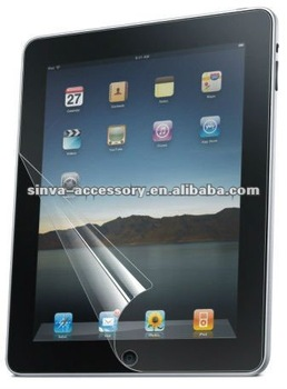 High-quality material : GradeA+PET,Anti-glare screen protector for iPad 2,3