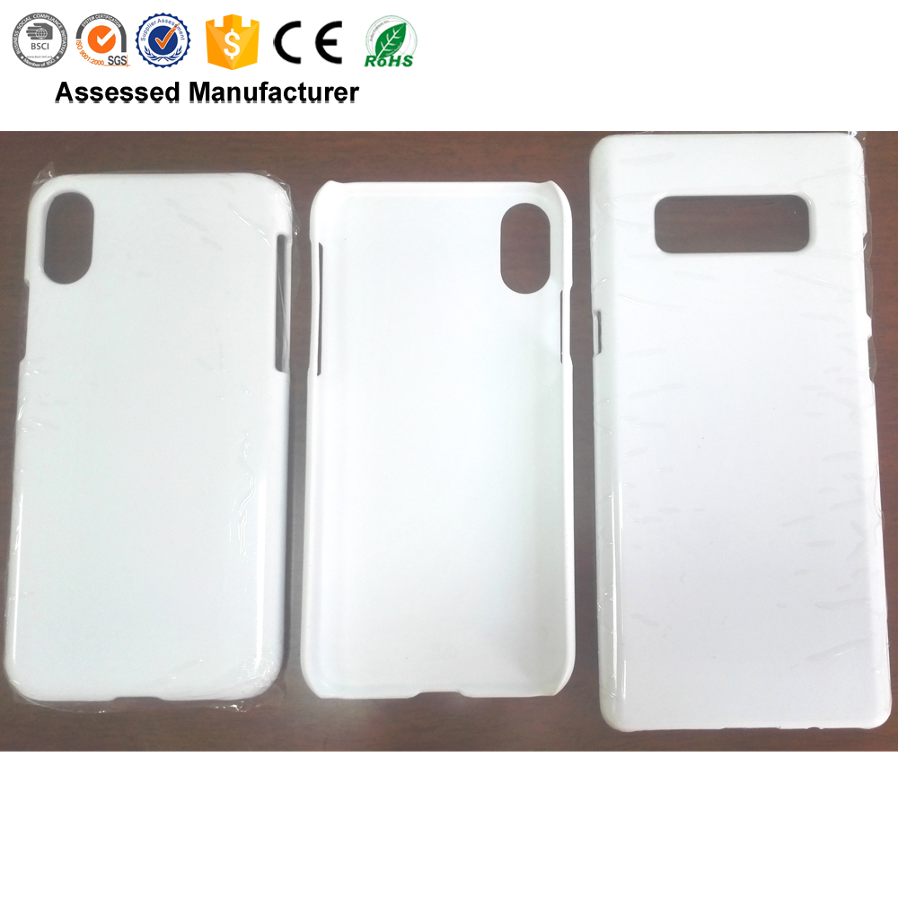 Wholesale 3D sublimation custom design hard polycarbonate PC plain blank cell phone case for iphone 7/7+