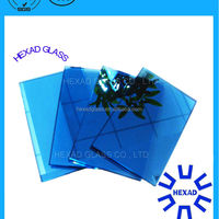 High Quality 8mm Blue Reflective Glass