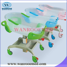 BBC001 mobile ABS basin adjustable infant hospital baby bassinet