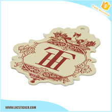 Get $100 Vouchers high quality wholesale clothing tag,paper hang tag,custom hang tag