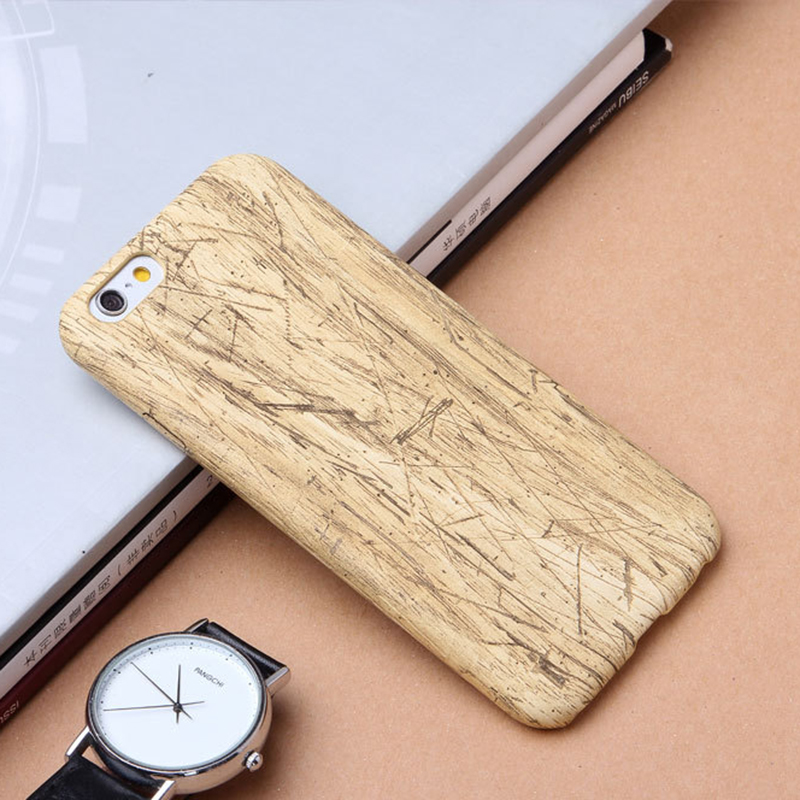 Custom Sublimation Plain Wooden Cell Phone Case Blank Mobile Wood Phone Case For Iphone 7 6