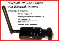 Bluetooth V2.0 Class 1 rs232 adapter SPP coverage to 100m