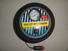 DC 12V mini car air compresspor tire pump , bike tires, athletic balls