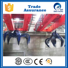 2016 New Design Type Qz Model Clamshell Grab Bucket Overhead Crane