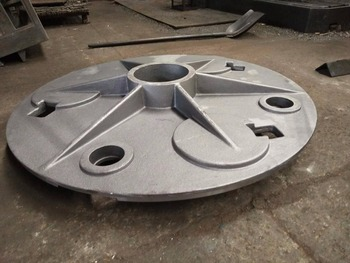 Ductile Iron Cast Basement Plate for Automatic Concrete House Printing Mahcines