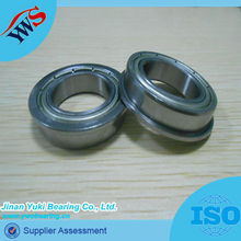 Extra small double sealed flange F683zz deep groove ball bearing