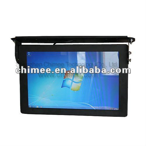 22'' lcd bus video advertising pla ( deft design all in one quality and support,aspect ratio16:10, 1680 x 1050 optimal A+ panel)