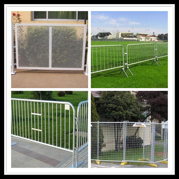 railing fence welded temporary wire mesh fine panel (ISO9001)