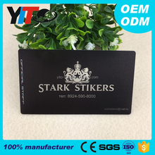 custom card 85.5*54MM pvc clear printing business card plastic one side printed hologram transparent business cards