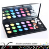 21 color mineral organic eye shadow palette,innisfree cosmetics korea