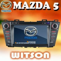 WITSON car gps navigation system fo Mazada 5 with touch screen