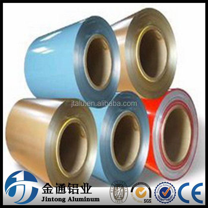 Hot sale cost price gutter color coated aluminium coil