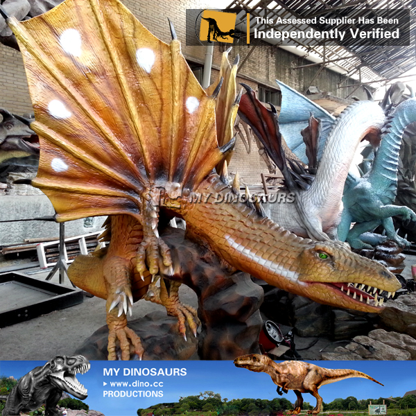 MY Dino-ZN060 simulation Playground model mechanical dragon