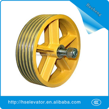 w250 Elevator traction sheave, elevator deflector sheaves