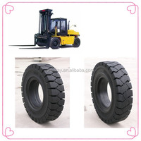 Best price non flat natural rubber solid tyre 15x41/2-8 rim wheel assembly widely used on forklift parts