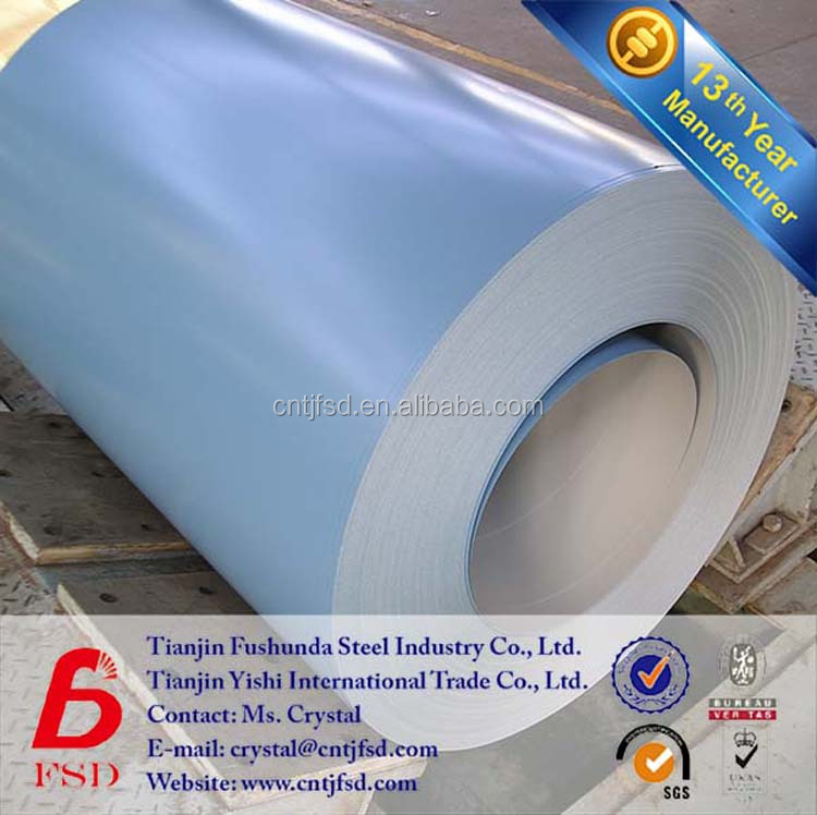 dx51d z200 hot dip galvanized prepainted coating steel coil