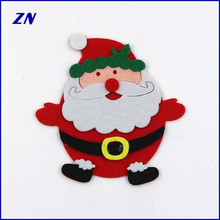 ZN indoor Christmas festival decorations felt Christmas Santa Claus accessories