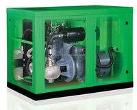 Oil-Free Water Lubricant Screw Air Compressor (180HP,10bar)