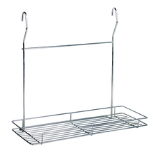 Hanging Stainless Steel Wire Basket Bathroom Shampoo Holder Shelf Shower Caddy Rack