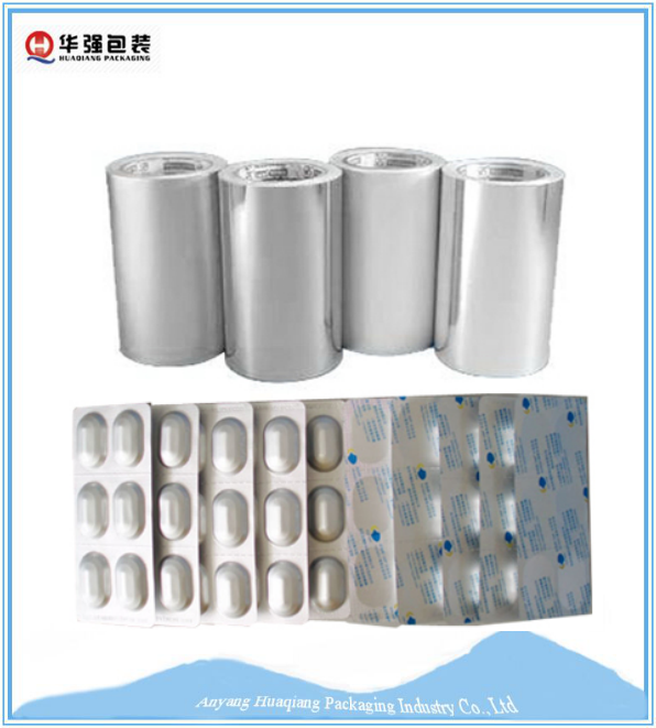 High quality aluminum foil laminated paper for pharmaceutical packaging