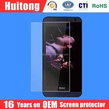 16 years factory supply anti-scratch 9h for htc desire 500 tempered glass screen guard