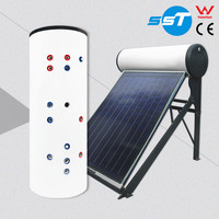 Flexible to install operate homemade solar heaters