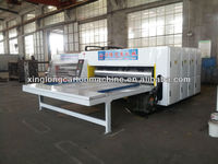 cardboard flexo printing and slotting machine packaging machine