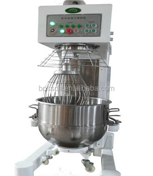 BOSSDA Most popular automatic 80 liters electric used cake mixer for sale