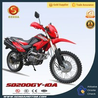 New Model Gasoline Powered 200CC Dirt Bike Made in China Hyperbiz SD200GY-10A