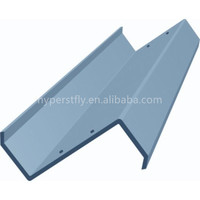 Hot dipped galvanized light gage steel joist z furring channel
