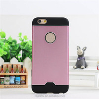South korea stylish metal cell phone case cover for iphone6