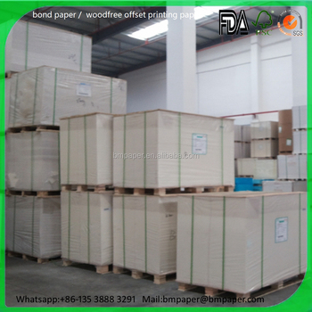 Used for making notebook offset printing paper roll
