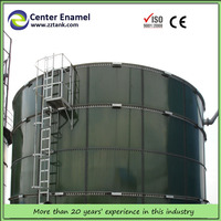 glass fused to steel tanks for waste water treatment plant, hospital sewage/industrial acid water tanks